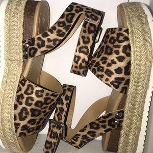 Shoes - Espadrille leopard sandals